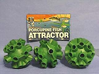 Cedars Bill Dance Porcupine Fish Attractor Spheres 3 Pack