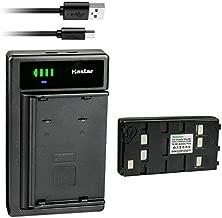 Kastar 1-Pack Battery and Smart USB Charger Compatible with Panasonic BP-12 BP-15 BP-17 BP-18 HHR-V20A/1B HHR-V214A/K HHR-V40A/1B PV-213A PV-214A PV-215A PV-B18 PV-BP15 PV-BP17 Battery