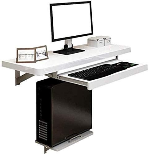M-XY Mesa para pequeñas Habitaciones con Paredes de Mesa de Comedor Mesa Plegable Cocina integrada por Ordenador Blanco de Oficina Escritorio de la computadora de Escritorio Escritorio