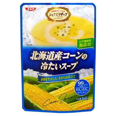 SSK(エスエスケイ) SSK シェフズリザーブ 「冷たいコーンのスープ」 1人前(160g)(冷たいスープ)【レトルト食品】