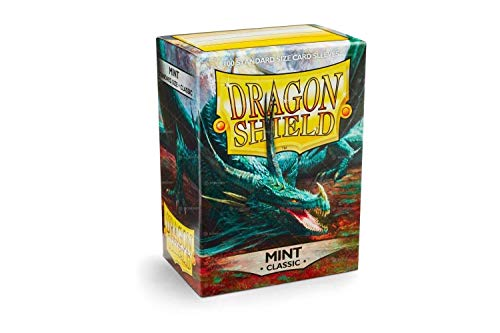 Arcane Tinman AT-10025 Sleeves: Dragon Shield Mint, One Size