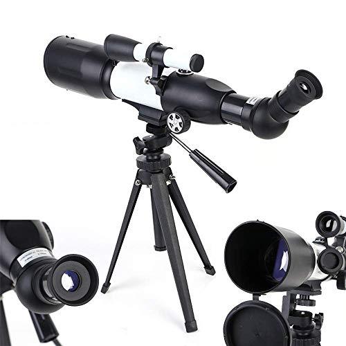 ROM Telescopios Profesionales de Juguete, telescopios para Adultos AstronoMonoculares de Alta definición de Gran Aumento con trípode y buscador para niños, Adultos, Principia