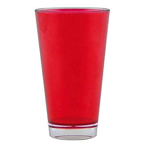 Zakdesigns 1278-1402E Teinté Gobelet Plastique Rouge 45 x 35 x 25 cm 300 ml