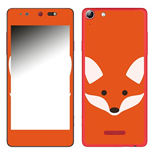 Disagu SF-106693_1019 Design Folie für Wiko Selfy 4G - Motiv Fuchsgesicht