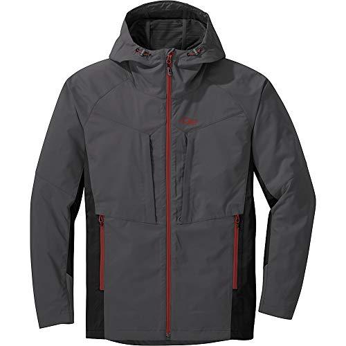 Outdoor Research Men's San Juan Jacket, Storm/Black, Small