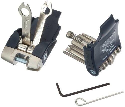 SKS Zubehör Toolbox TRAVEL 18 Funktionen, schwarz, 15 x 8 x 8 cm