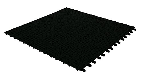 Multiplate buitentegel zwart 55,5 x 20,5 x 1,2 cm