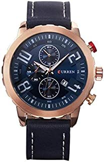 Curren Casual Watch For Women Analog Leather - Curren-8193