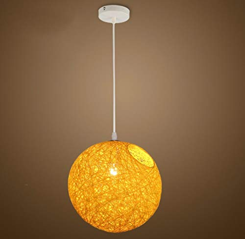 Kandelaar Vintage Retro Ball Creative Personity Bar Yellow Lighting Studio Nightlight Studiar