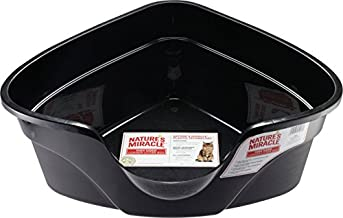 Nature's Miracle Advanced High Sided Corner Litter Box (P-5913), Pack of 1
