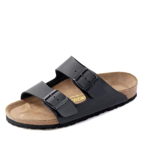 Birkenstock Schuhe Arizona Birko-Flor Schmal Black (051793) 36 Schwarz