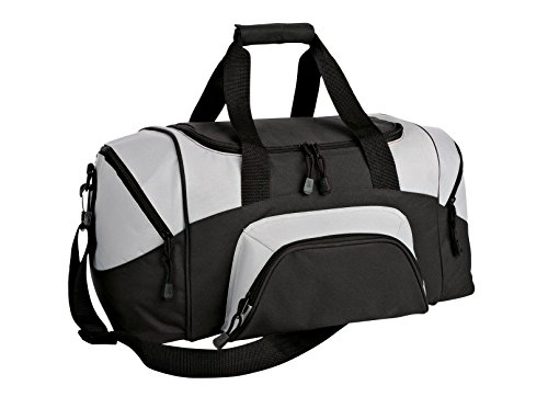 Port & Company luggage-and-bags Improved Colorblock Small OSFA Black/Grey