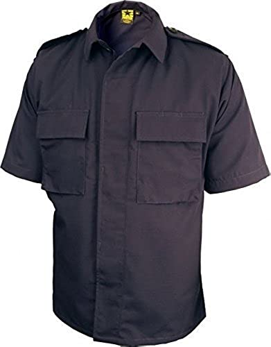Propper BDU courte-Sleeve 2-Pocket Shirt, Taille petit - Regular, Dark by Propper