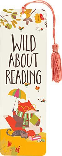 Wild About Reading Children's Bookmark