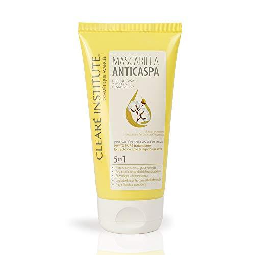 Clearé Institute. Mascarilla Anticaspa. Ingredientes naturales. 150 ml