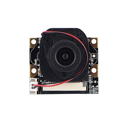 Richer-R Raspberry Pi Camera Module, Mini 5MP 1080P IR LED Modul Kamera Modul,OV5642 Sensor Tages-/Nachtsichttaugliches Kamera Video Modul für Raspberry Pi/Pi 2 / Pi 3