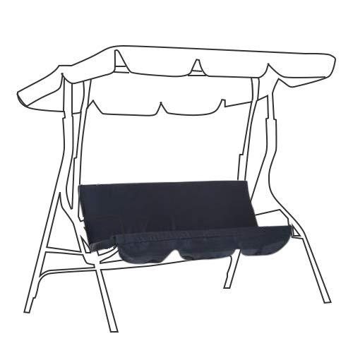 Ersatzkissen für Hollywoodschaukel, 3-Sitzer, 150 x 150 x 10 cm, staub- und wasserdicht für Hollywoodschaukel