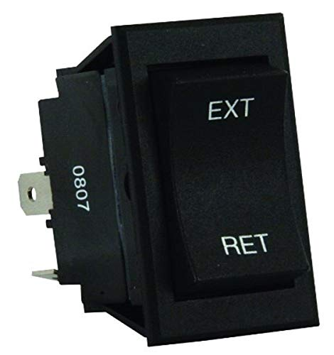 JR Products 13635 5th Wheel/Tongue Jack Switch,Black