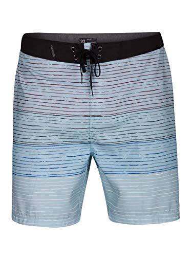 Hurley Triblaze 18 Badeshorts für Herren S Blau (Ocean Bliss)