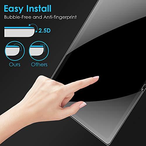 KATUMO Displayfolie Samsung Galaxy Tab A7 2020 Panzerglas Folie für Tab A7 2020 Displayschutzfolie 9H Härte Glas für SM-T500/T505/T507