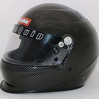 RaceQuip Unisex-Adult Full-Face-style Helmet (Carbon Graphic, Large)