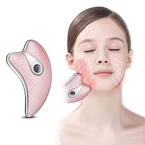 Facial Massager-Micro-Rouleau Actuel du Visage et des Yeux du Cou Instrument Traitement Anti-âge pour Les Soins réduit Les Rides et ridules
