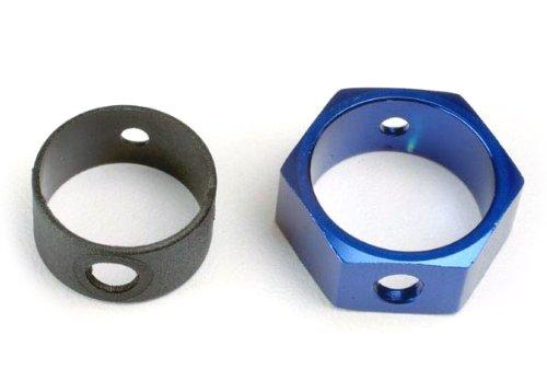 Traxxas 4966 hexagonale Adaptateur pour Frein en Aluminium Modèle de Voiture pièces, Bleu