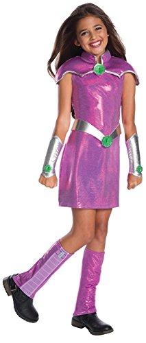 Rubie's Girls DC Superhero Deluxe Starfire Costume, Medium,...