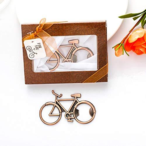 Bike Bottle Opener Regalos de ciclismo para Hipsters Decoración de bicicletas Regalo de cumpleaños para ciclista Bicicleta Abridor de cerveza en caja de regalo Beautiful Bike Decor (Bicicleta)
