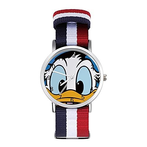 Donald DuckWatches son impermeables, versátiles, informales, estudiantes, hombres y mujeres, deportes de moda y temperamento simple
