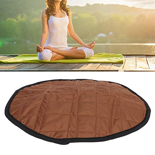 SALALIS Kneeling Pad, Garden Mat Collapsible Protect the Knee Durable Gardening Gifts for Outdoor Fitness for Balcony for Gardener(brown)