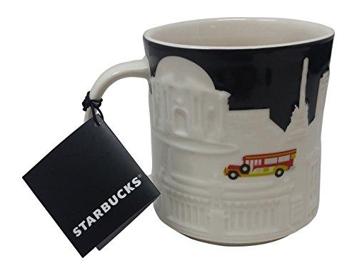 Starbucks Coffee Mugs You Are Here Collection - Relief Mug (Manila White)