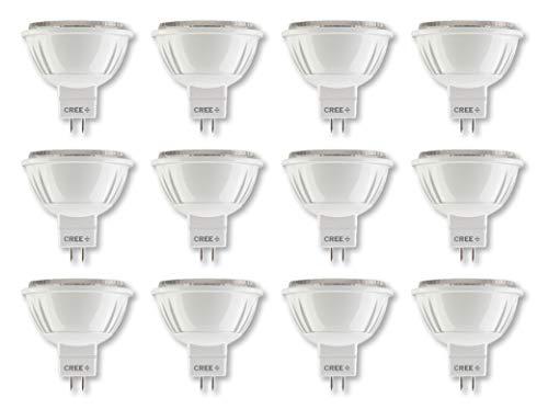Cree Lighting, MR16-75W-P1-27K-35FL-GU53-U1-MP, Pro Series MR16 GU5.3 75W Equivalent LED Bulb, 35 Degree Flood, 570 lumens, Dimmable, Soft White 2700K,25,000 hour rated life 90+ CRI | 24-Pack