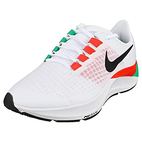 Nike Air Zoom Pegasus 37 EK Eliud Kipchoge Zapatillas de running Zapatillas de deporte DD9478 (Blanco/Negro-Chile Rojo 100), color Blanco, talla 45 EU