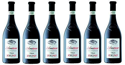6x0,75l - 2016er - Zeni - Amarone della Valpolicella Classico D.O.C.G. - Veneto - Italien - Rotwein trocken