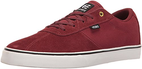 Etnies Herren Scam Vulc Low-Top, Rot (Burgundy), 44 EU