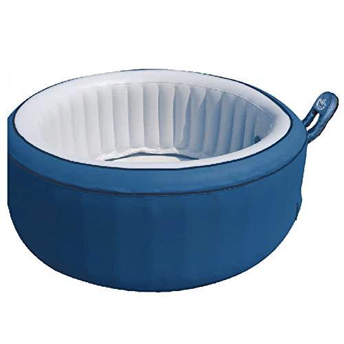 Xiaolizi Summer Inflatable Portable Bubble Massage Jet Spa Pool Whirlpool Hot Tub Outdoor Bathtub Mspa B140 Capacity 4 Person