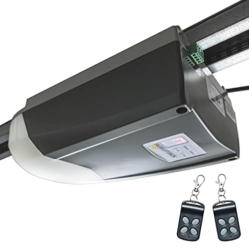 Schellenberg 60912 Garagentorantrieb Smart Home fähig Smart Drive 10 Premium, Zugkraft 600 N, Tore bis 10m² Fläche, Garagentoröffner