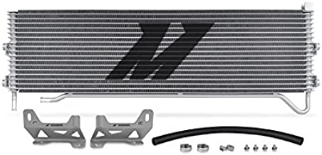 Mishimoto MMTC-F2D-08SL Silver Ford 6.4L Powerstroke Direct Fit Transmission Cooler, 2008-2010
