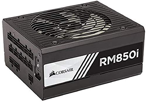 Corsair RMi Series RM850i ATX/EPS Fully Modular 80 PLUS Gold 850 W Power Supply Unit - Black