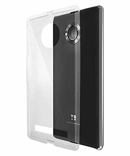 COVERNEW Back Cover Micromax Yu Yuphoria - Transparent