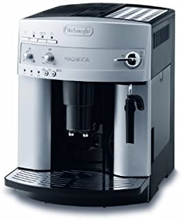 De'Longhi 德龙Magnifica ESAM 3200.S全自动咖啡机(按键设计,制作奶泡,13种程度?#24515;?#25216;术,可拆卸式萃取机芯,一次萃取两杯)银色