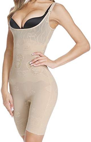 Vaslanda Seamless Women Full Shapewear Bodysuit Tummy Control Slimming Body Shaper Mid Thigh product image