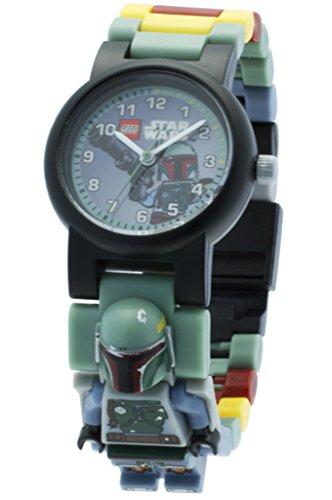 Reloj modificable infantil de figurita de Boba Fett de LEGO Star Wars 8020448...