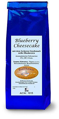Blueberry Cheesecake, Schwarzer Tee