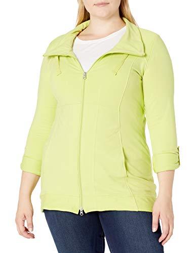 Neon Buddha Women's Plus Size Ameena Jacket, Lime, S