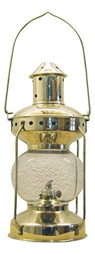 Petroleumlampe Lampe Messing, H: 31cm, Ø: 14cm Petroleum