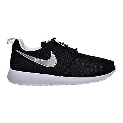 Nike Air Roshe One (GS) Big Kid's Shoes Black/Metallic Silver/White 599728-021 (6 M US)