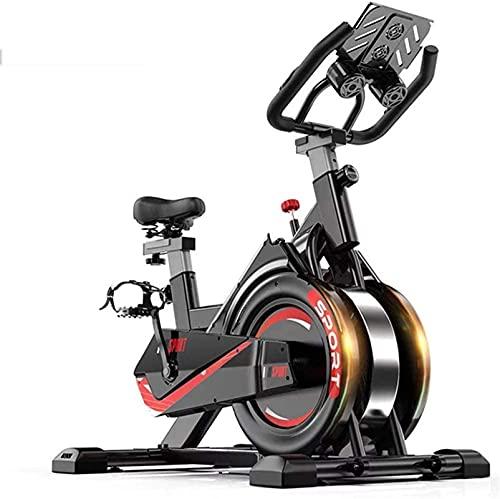Equipamiento Gimnasio en casa Bicicleta de spinning de interior Bicicleta, Bicicleta de ciclismo con entrenamiento de resistencia Gimnasio en casa Máquina de ejercicios cardiovasculares Bicicleta vert