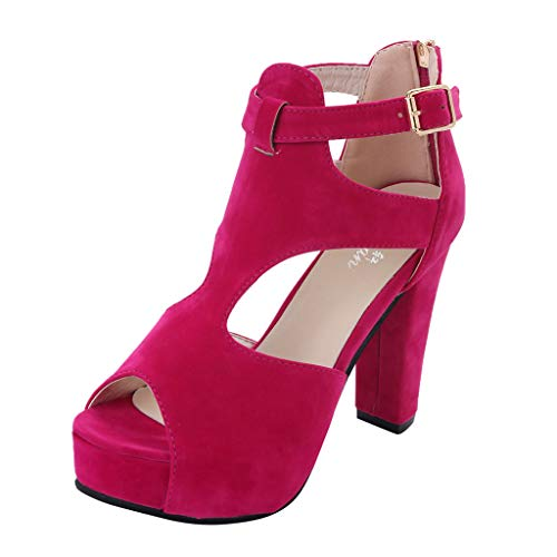 Sandalen voor dames met hoge hakken, met stiletto